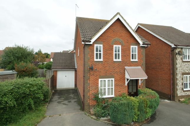 Thumbnail Detached house to rent in Roman Way, Kingsnorth, Ashford
