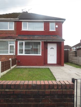 Thumbnail Semi-detached house to rent in Pinetree Street, Manchester
