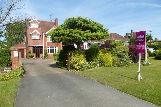 Thumbnail Detached house for sale in Brinsley Hill, Jacksdale, Nottingham