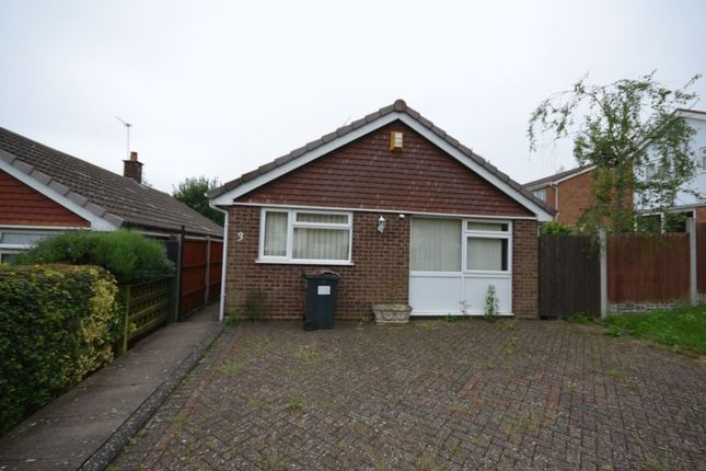 Thumbnail Detached bungalow for sale in Peel Walk, Harborne, Birmingham