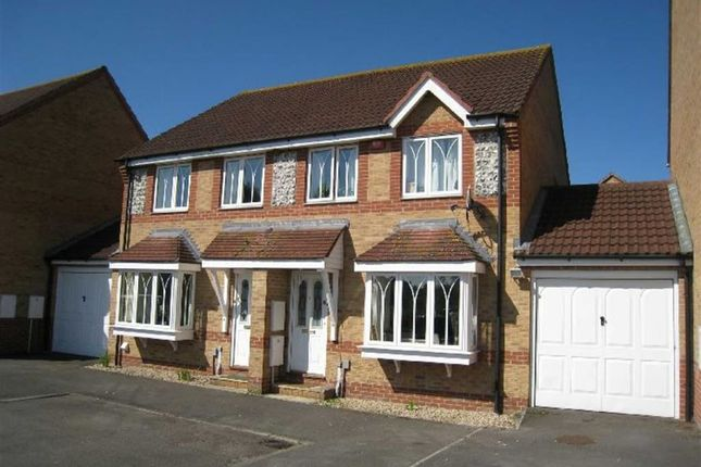 Thumbnail Semi-detached house to rent in Equine Way, Newbury