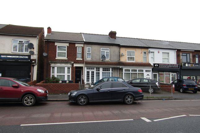 Thumbnail Terraced house for sale in Alum Rock Road, Alum Rock, Birmingham