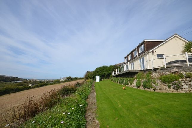 Thumbnail Detached house for sale in Bolingey, Perranporth