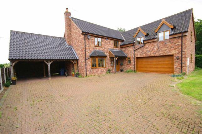 Thumbnail Detached house for sale in Outgang Road, Cottam, Nottinghamshire