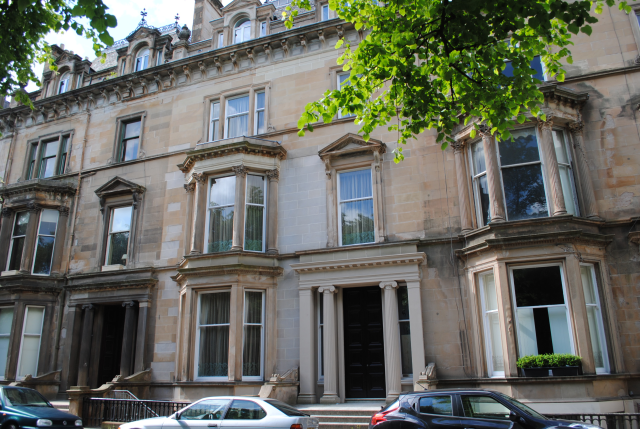 Thumbnail Flat to rent in Apartment 2, 3 Devonshire Terrace, Hyndland, 0Xe