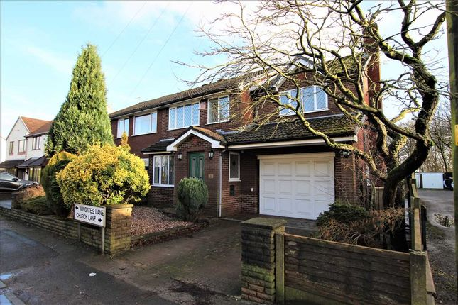 Thumbnail Semi-detached house for sale in Wingates Lane, Westhoughton, Bolton