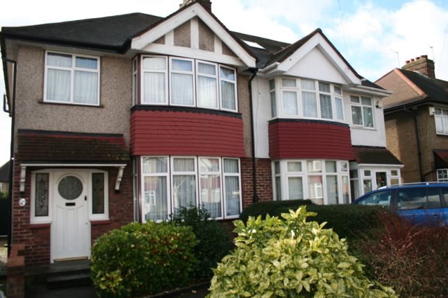 Thumbnail Semi-detached house to rent in Fairdale Gardens, Hayes