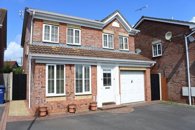 Thumbnail Detached house for sale in Sorrel Way, Gillingham