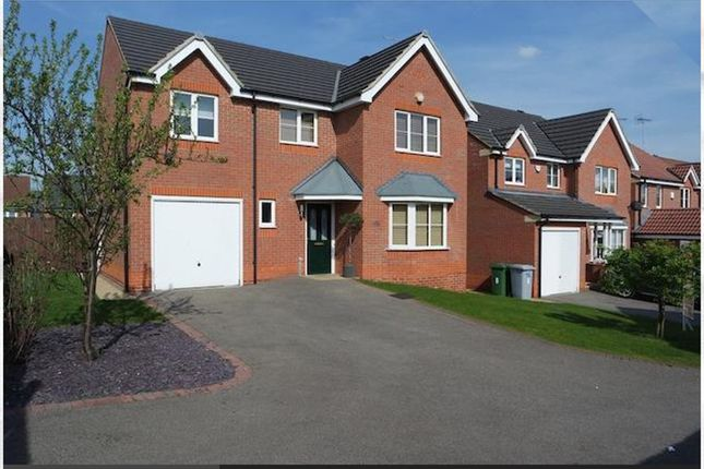 Thumbnail Detached house for sale in Primrose Way, Clipstone Village, Mansfield