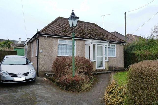 Thumbnail Detached bungalow to rent in Crossways, Tatsfield, Westerham