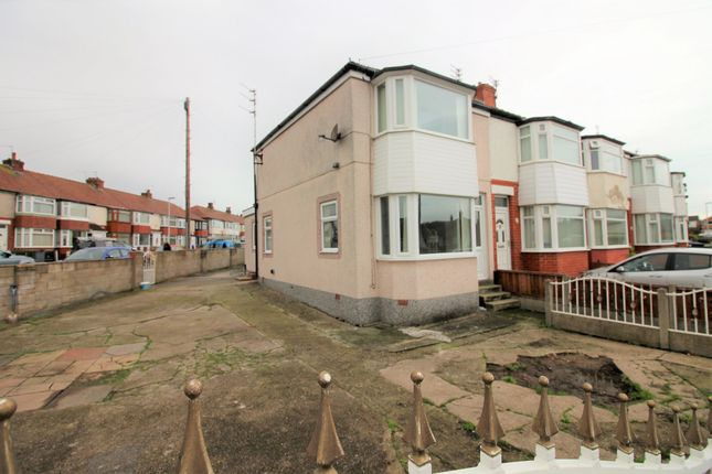 Thumbnail End terrace house to rent in Whalley Lane, Blackpool