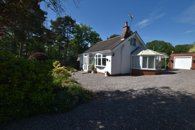 Thumbnail Detached bungalow for sale in Eccleshall Road, Loggerheads, Market Drayton