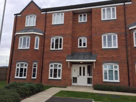 Thumbnail Flat to rent in Hoskins Lane, Middlesbrough