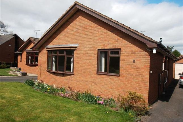 Thumbnail Bungalow to rent in Orchard Close, Uttoxeter