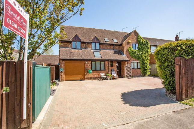 Thumbnail Detached house for sale in Addison Road, Steeple Claydon, Buckingham