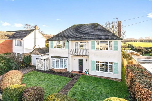 Thumbnail Detached house for sale in Orchard Drive, Wye, Ashford