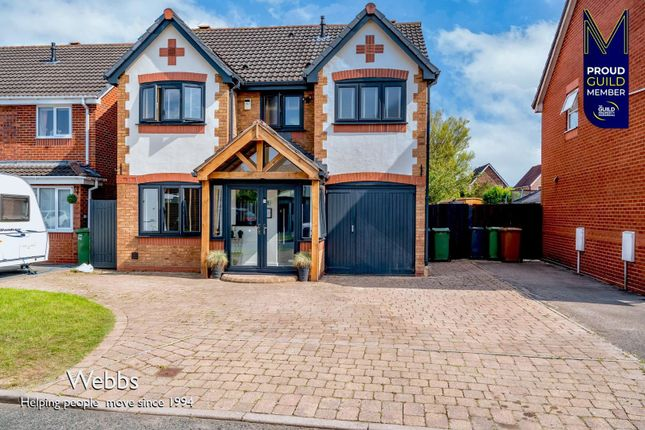 4 bed detached house for sale in Allerdale Road, Clayhanger, Walsall WS8