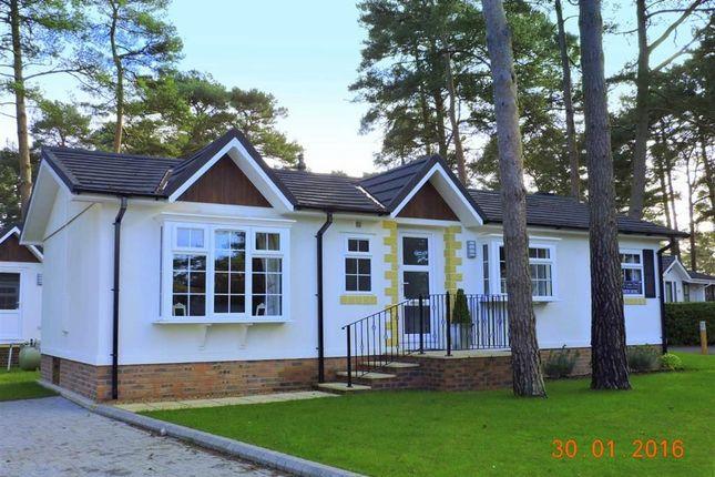 Thumbnail Detached bungalow for sale in Drakes Road, Ferndown, Dorset