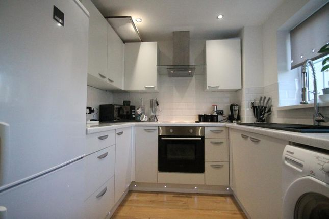 Thumbnail End terrace house for sale in Ramson Close, Penpedairheol, Hengoed