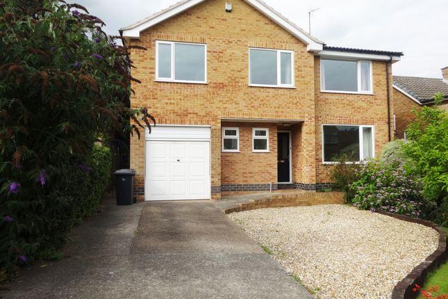 Thumbnail Detached house to rent in Linwood Crescent, Ravenshead, Nottingham