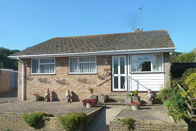 Thumbnail Detached bungalow for sale in Waterside, Hythe