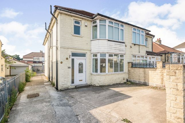 Thumbnail Semi-detached house for sale in Bradford Road, Stanningley, Pudsey