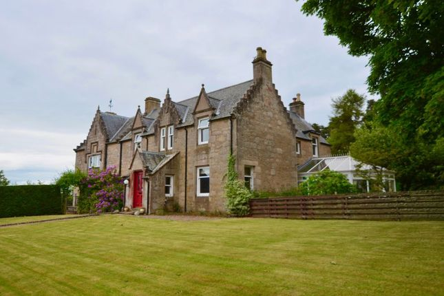Thumbnail Detached house for sale in Delnies House, Inverness Road, Nairn