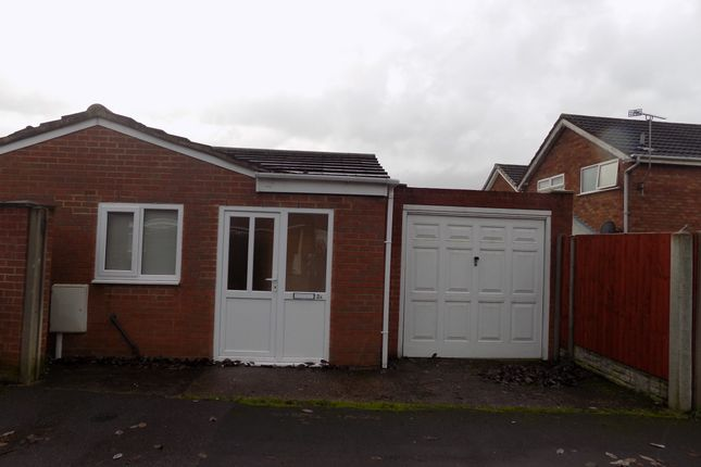 1 bed bungalow to rent in Haines Close, Sinfin DE24
