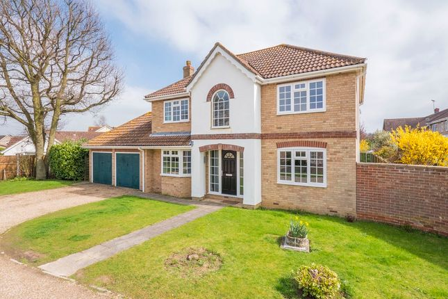 Thumbnail Detached house for sale in Bramble Way, Leavenheath, Colchester