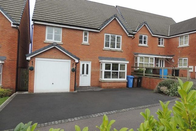 Thumbnail Detached house for sale in Nightingale Close, Offerton, Stockport