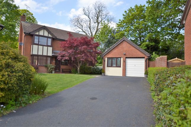Thumbnail Detached house for sale in Lockerbie Close, Holmes Chapel, Crewe