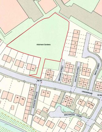 Land for sale in John William Street, Union Road, Liversedge
