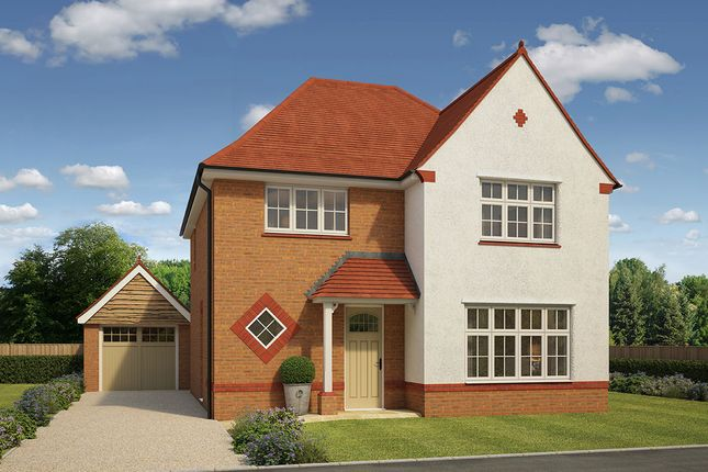 "Thumbnail Detached house for sale in ""Cambridge"" at Sugworth Crescent, Radley, Abingdon"