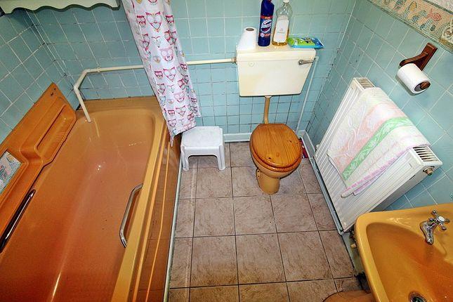 Bathroom of York Terrace, Georgetown, Tredegar, Blaenau Gwent. NP22