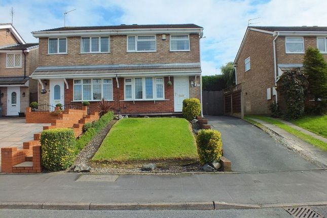 Thumbnail Semi-detached house for sale in Capricorn Way, Packmoor, Stoke-On-Trent