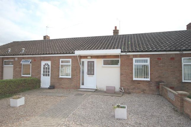 Thumbnail Terraced bungalow for sale in Akeman Close, Stretham, Ely