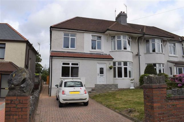 Thumbnail Semi-detached house for sale in Frederick Place, Llansamlet, Swansea