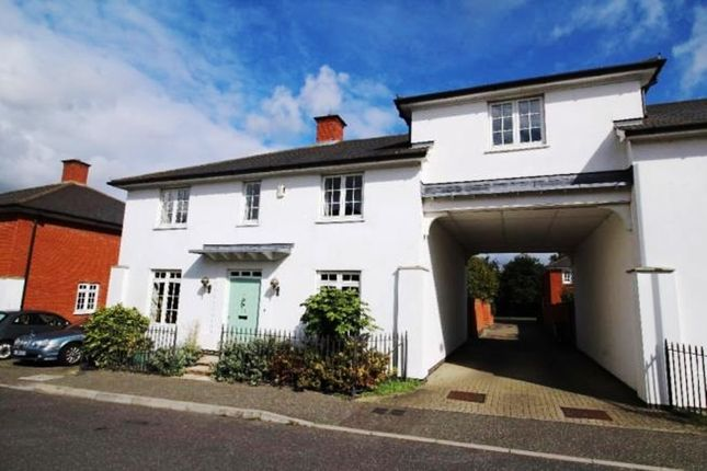 Thumbnail Link-detached house for sale in Elgar Drive, Witham