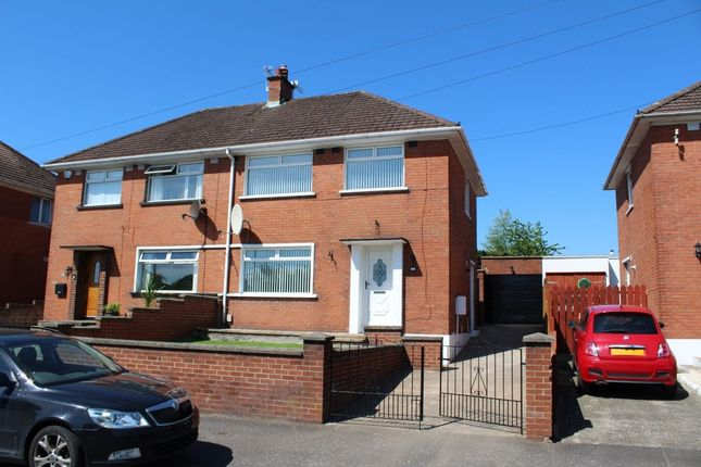 Thumbnail Terraced house to rent in Cherryhill Road, Dundonald, Belfast