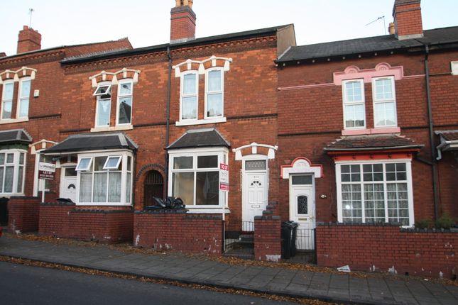 Thumbnail Terraced house to rent in Boulton Road, Birmingham