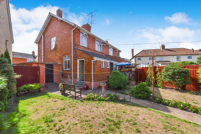Thumbnail Semi-detached house for sale in Greenway Crescent, Taunton