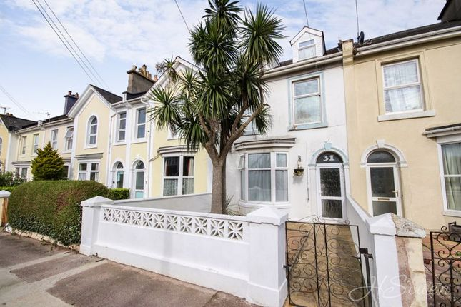 Thumbnail Terraced house for sale in Chatsworth Road, Torquay