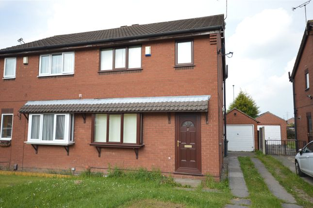 Thumbnail Semi-detached house for sale in South Hill Gardens, Leeds, West Yorkshire