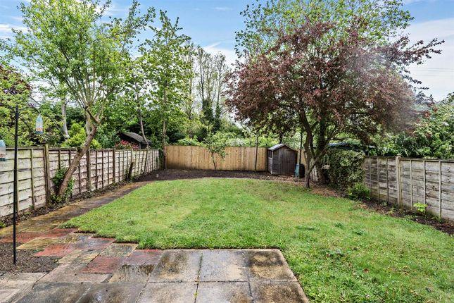 Rear Garden of The Paddock, Wilberfoss, York YO41