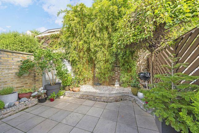 Garden of Waldeck Road, London W4