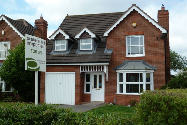 4 bed detached house to rent in Saracen Drive, Sutton Coldfield B75