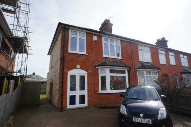 Thumbnail Terraced house to rent in Heath Lane, Ipswich
