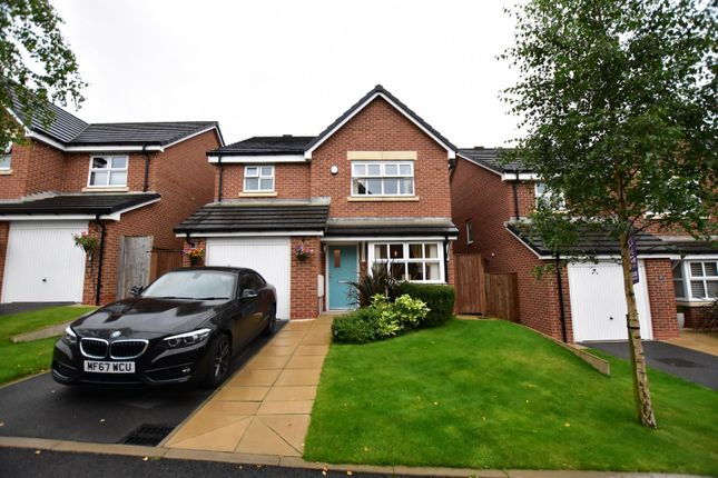 Thumbnail Detached house for sale in Shire Croft, Mossley, Ashton-Under-Lyne