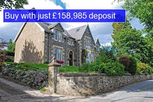 Thumbnail Hotel/guest house for sale in East Terrace, Kingussie