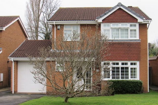 Thumbnail Detached house for sale in Felgate Close, Monkspath, Solihull